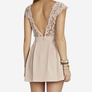 BCBGeneration Lace Inset Dress
